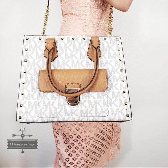 24d752b284f5 Michael Kors Bags   Nwt Medium Bridgette Studded Tote Bag   Poshmark